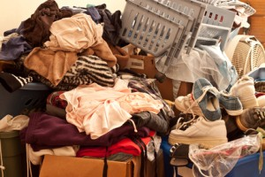Hoarding can lead to mold growth.